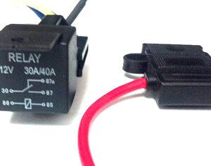 Firebird TransAm High Beam Relay System